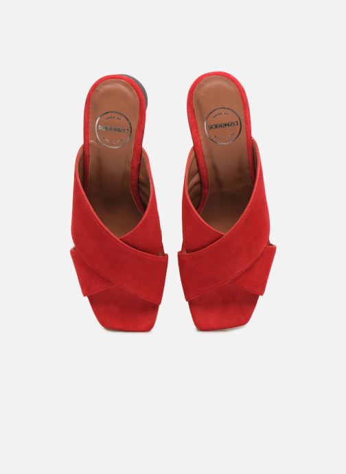 Mules et sabots Made by SARENZA Riviera Couture Mule #1 Rouge vue portées chaussures