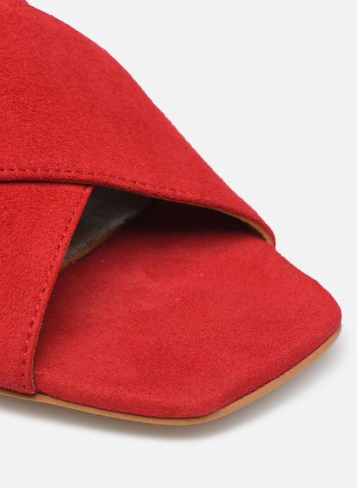 Mules et sabots Made by SARENZA Riviera Couture Mule #1 Rouge vue gauche