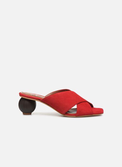 Mules et sabots Made by SARENZA Riviera Couture Mule #1 Rouge vue détail/paire