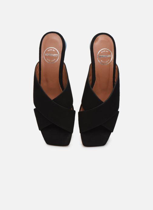 Zuecos Made by SARENZA Riviera Couture Mule #1 Negro vista del modelo