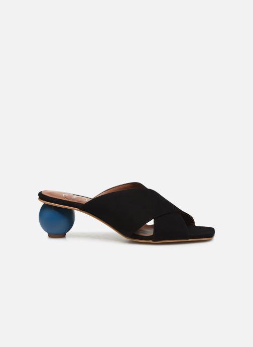 Zuecos Made by SARENZA Riviera Couture Mule #1 Negro vista de detalle / par