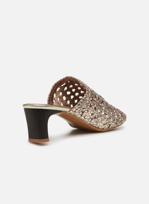 Mules et sabots Made by SARENZA Africa Vibes Mule #1 Or et bronze vue face