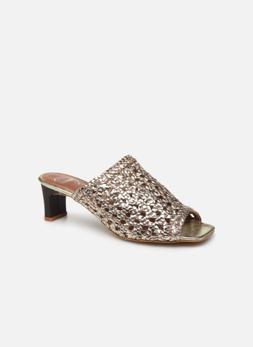 Mules et sabots Made by SARENZA Africa Vibes Mule #1 Or et bronze vue droite