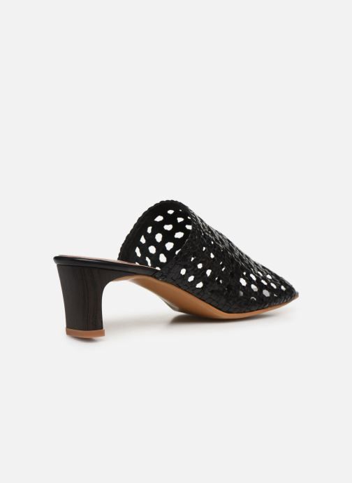 Wedges Made by SARENZA Africa Vibes Mule #1 Zwart voorkant