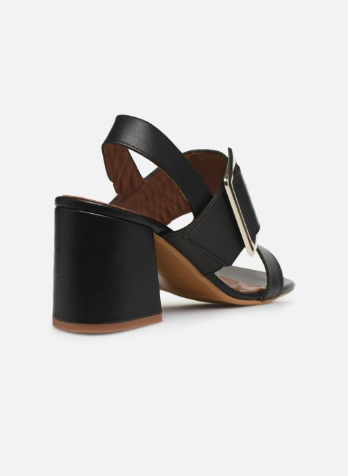 Sandali e scarpe aperte Made by SARENZA South Village Sandales à Talons #5 Nero immagine frontale