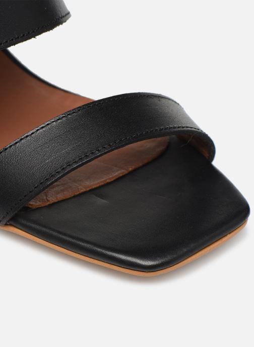 Sandales et nu-pieds Made by SARENZA South Village Sandales à Talons #5 Noir vue gauche