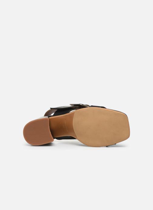 Sandales et nu-pieds Made by SARENZA South Village Sandales à Talons #5 Noir vue haut