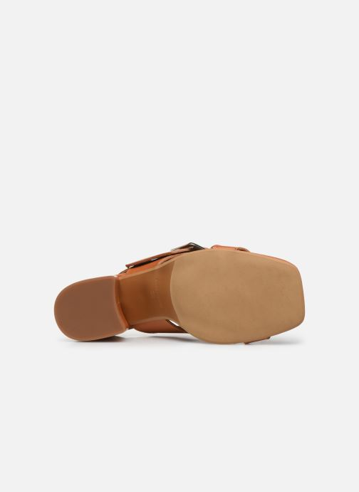 Sandalen Made by SARENZA South Village Sandales à Talons #5 Bruin boven