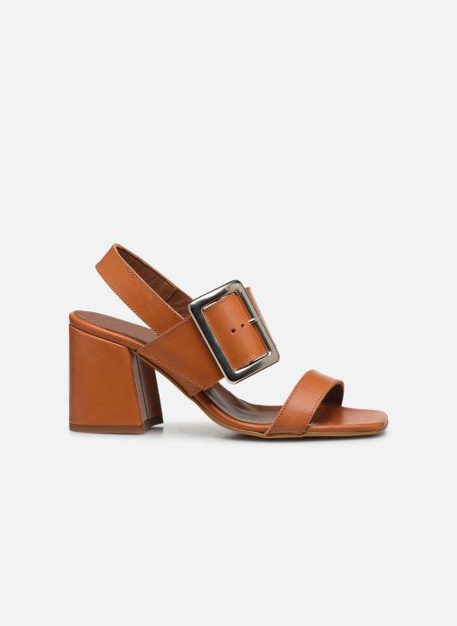 Sandales et nu-pieds Made by SARENZA South Village Sandales à Talons #5 Marron vue détail/paire