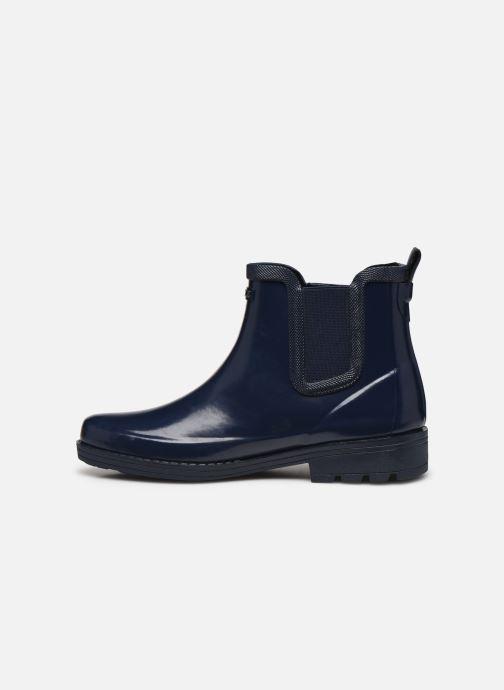 Bottines et boots Aigle Carville Bleu vue face