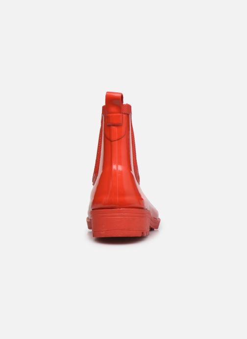 Stivaletti e tronchetti Aigle Carville Rosso immagine destra