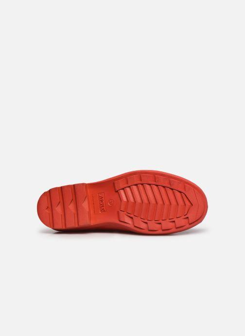 Stivaletti e tronchetti Aigle Carville Rosso immagine dall'alto