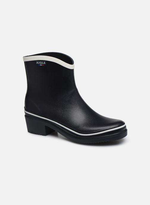 Bottines et boots Aigle Ms Jul Pop - Made in France - Bleu vue détail/paire