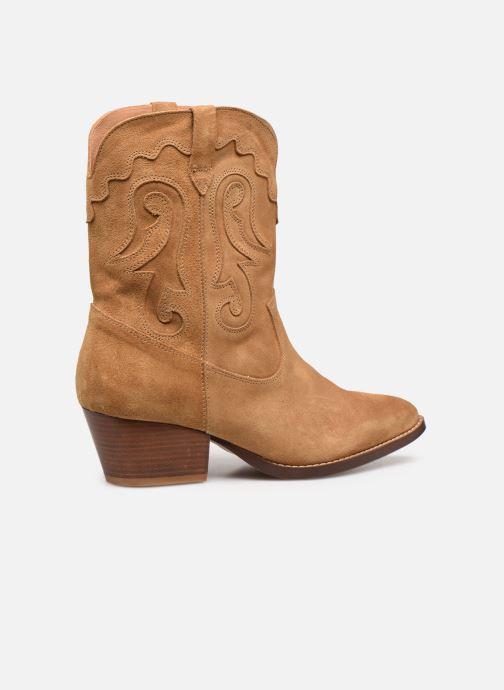 Boots en enkellaarsjes Made by SARENZA Summer Folk Boots #3 Beige voorkant