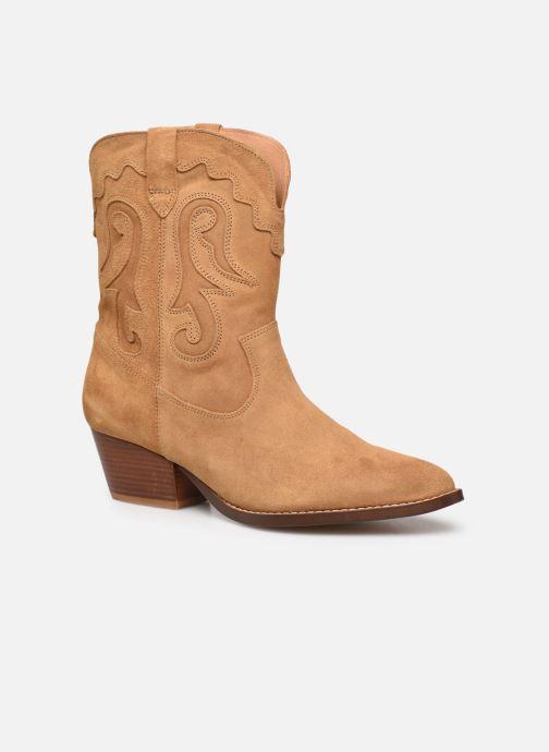 Boots en enkellaarsjes Made by SARENZA Summer Folk Boots #3 Beige rechts