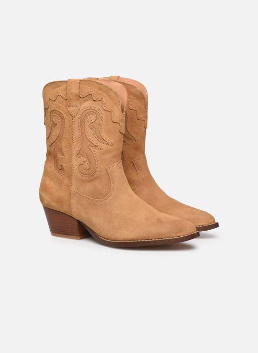 Boots en enkellaarsjes Made by SARENZA Summer Folk Boots #3 Beige achterkant