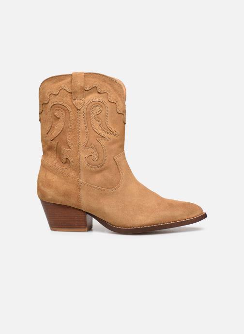 Bottines et boots Made by SARENZA Summer Folk Boots #3 Beige vue détail/paire