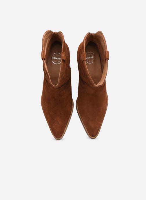 Stivaletti e tronchetti Made by SARENZA Summer Folk Boots #3 Marrone modello indossato