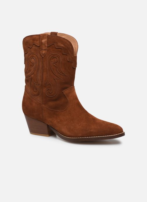 Bottines et boots Made by SARENZA Summer Folk Boots #3 Marron vue droite