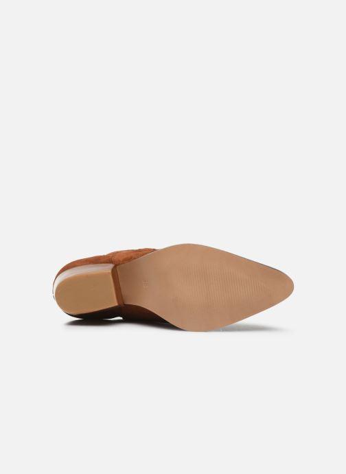 Bottines et boots Made by SARENZA Summer Folk Boots #3 Marron vue haut