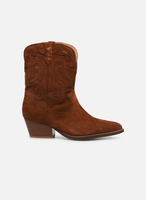 Bottines et boots Made by SARENZA Summer Folk Boots #3 Marron vue détail/paire