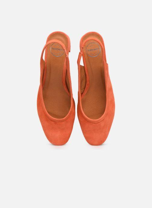 Zapatos de tacón Made by SARENZA South Village Escarpin #6 Naranja vista del modelo