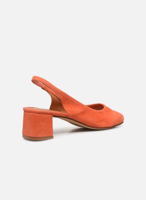 Zapatos de tacón Made by SARENZA South Village Escarpin #6 Naranja vista de frente