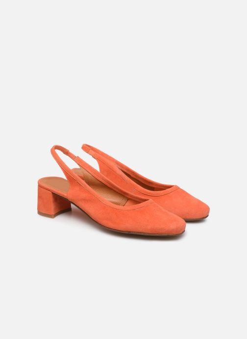 Zapatos de tacón Made by SARENZA South Village Escarpin #6 Naranja vistra trasera