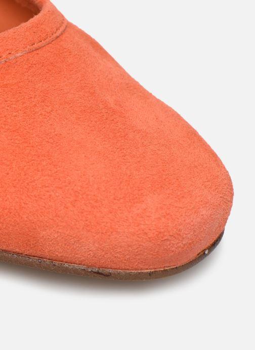 Zapatos de tacón Made by SARENZA South Village Escarpin #6 Naranja vista lateral izquierda
