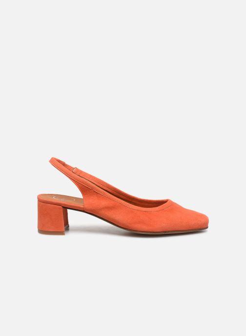Zapatos de tacón Made by SARENZA South Village Escarpin #6 Naranja vista de detalle / par