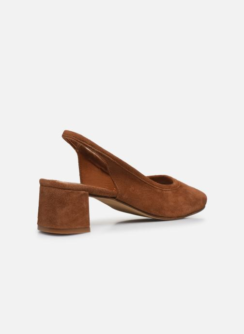 Zapatos de tacón Made by SARENZA South Village Escarpin #6 Marrón vista de frente