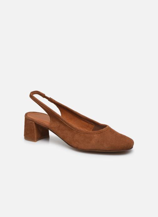 Zapatos de tacón Made by SARENZA South Village Escarpin #6 Marrón vista lateral derecha