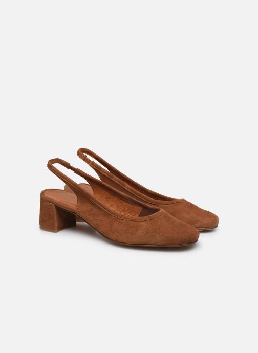 Zapatos de tacón Made by SARENZA South Village Escarpin #6 Marrón vistra trasera
