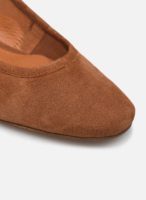 Zapatos de tacón Made by SARENZA South Village Escarpin #6 Marrón vista lateral izquierda