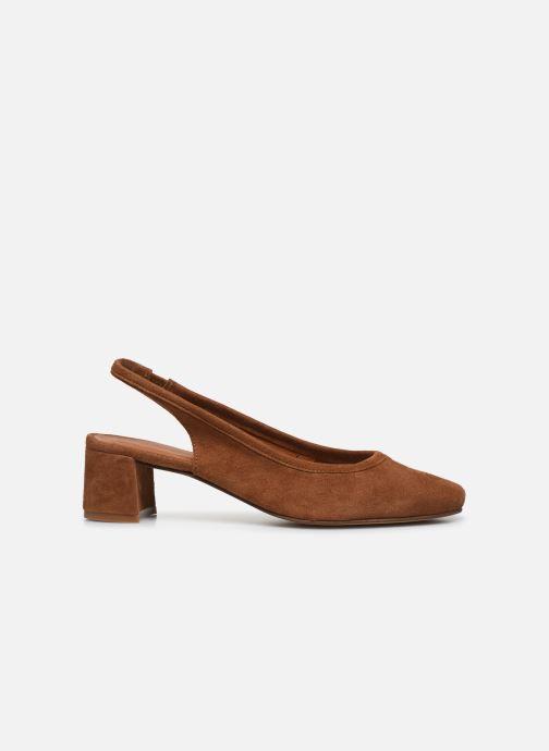 Zapatos de tacón Made by SARENZA South Village Escarpin #6 Marrón vista de detalle / par