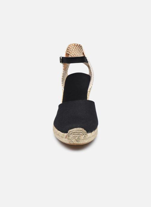 Espadrilles Georgia Rose Inagald Noir vue portées chaussures