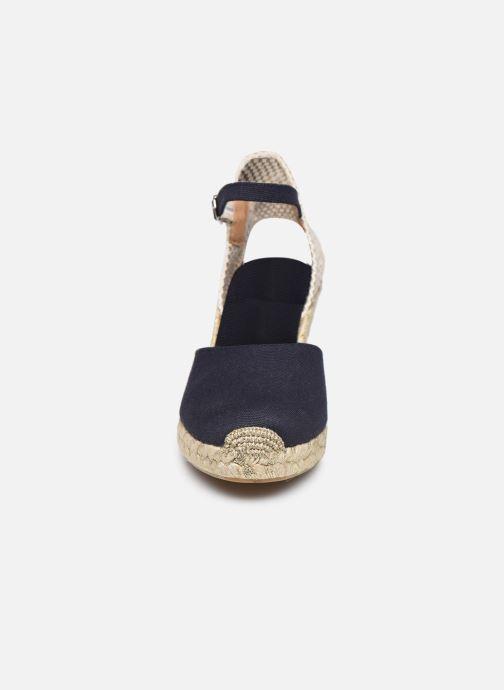 Espadrilles Georgia Rose Inagald Bleu vue portées chaussures