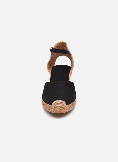 Espadrilles Georgia Rose Ipono Noir vue portées chaussures