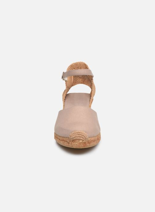 Scarpe di corda Georgia Rose Ipono Beige modello indossato