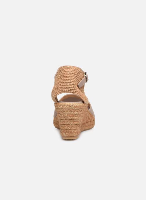 Scarpe di corda Georgia Rose Ipono Beige immagine destra
