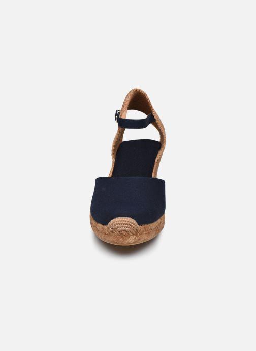 Espadrilles Georgia Rose Ipono Bleu vue portées chaussures