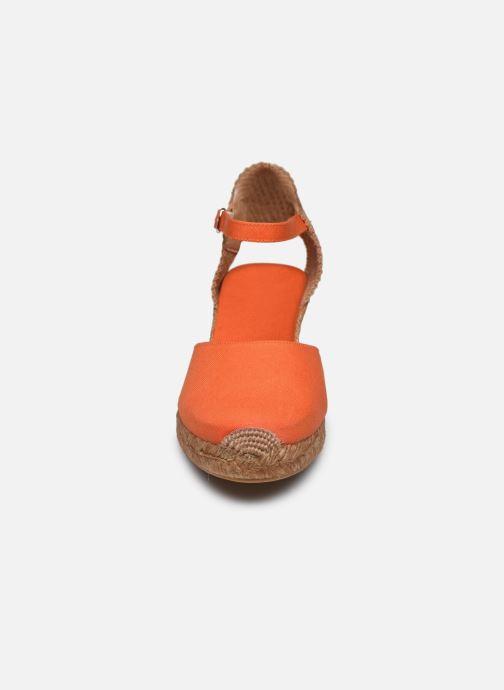 Scarpe di corda Georgia Rose Ipono Arancione modello indossato