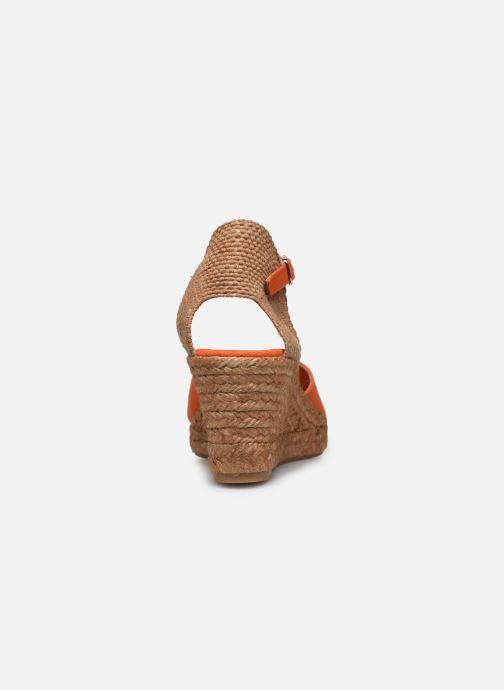 Scarpe di corda Georgia Rose Ipono Arancione immagine destra