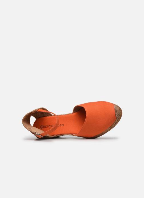 Scarpe di corda Georgia Rose Ipono Arancione immagine sinistra
