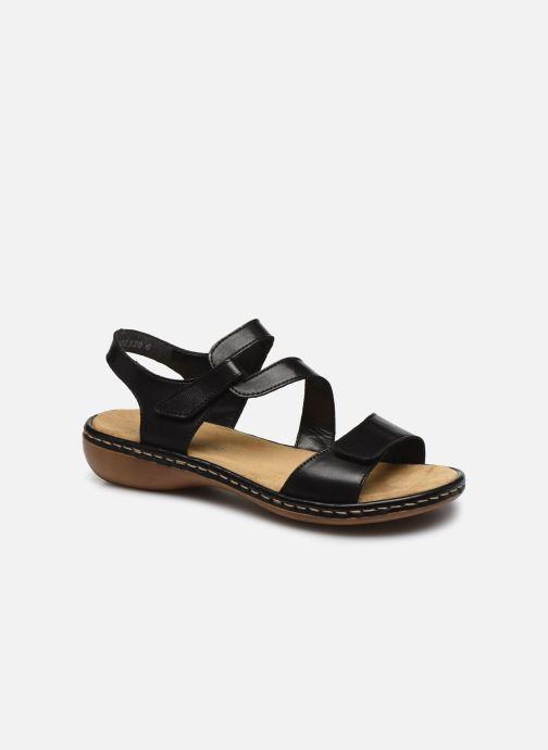 Sandali e scarpe aperte Rieker Ababe Nero vedi dettaglio/paio
