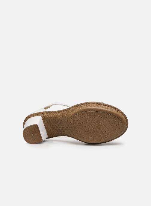Rieker Lisabeth (Blanc) Sandales et nu pieds chez Sarenza