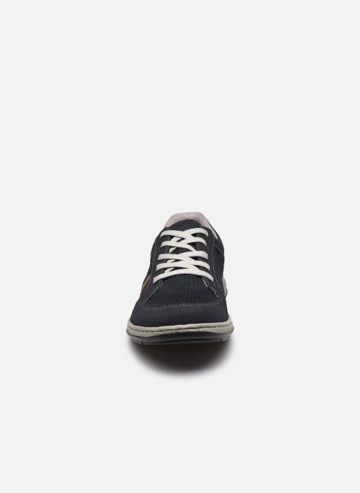 Sneaker Rieker Arthur blau schuhe getragen