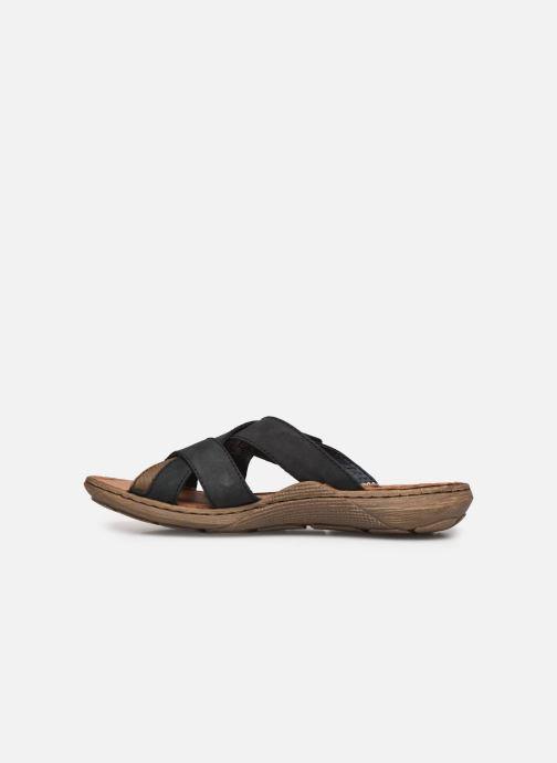 Sandales et nu-pieds Rieker Witold Bleu vue face