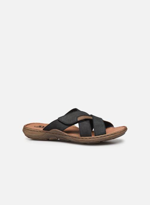 Sandales et nu-pieds Rieker Witold Bleu vue derrière