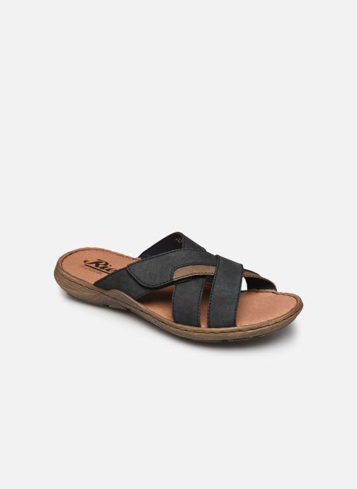 Sandales et nu-pieds Rieker Witold Bleu vue détail/paire